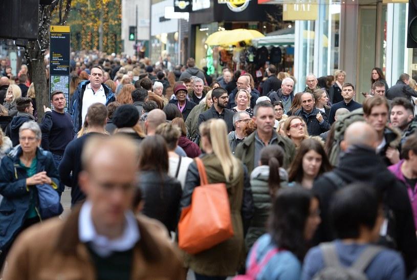 Ludzie na ulicach Londynu, zdj. ilustracyjne /PA Wire/PA Images/EAST NEWS /East News