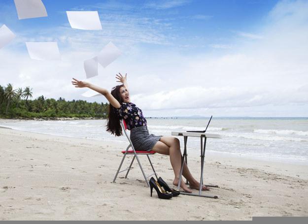 Ludzie sukcesu są optymistycznie nastawieni do życia /123RF/PICSEL