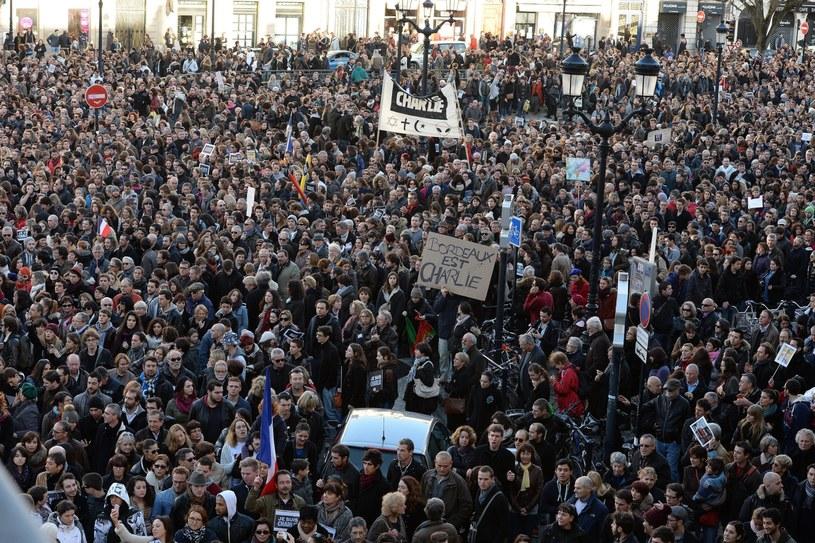 Ludzie wyszli na ulice /AFP