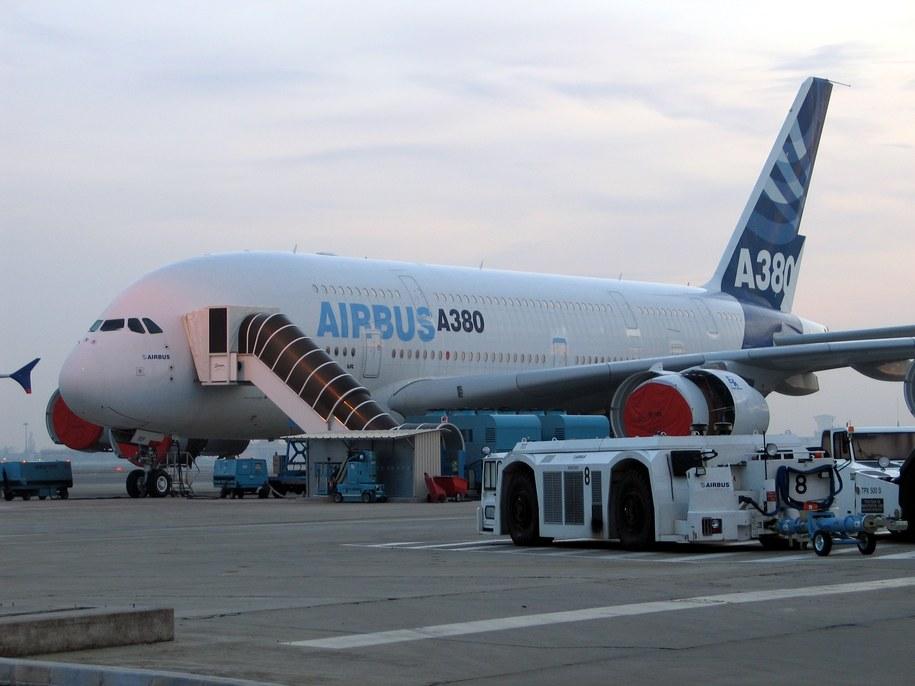 Lufthansa nie chce, by jej duma - Airbus A380 - nosiła nazwę Stalingrad  /Fot. Marek Gładysz /RMF FM