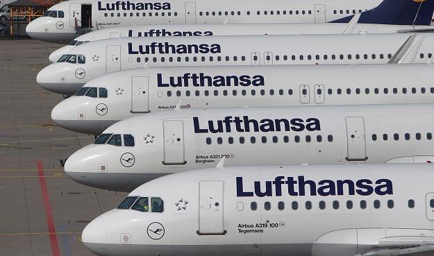 Lufthansa strajkuje głównie na lotnisku Frankfurt nad Menem /AFP