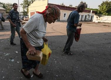 Ługańsk bez prądu, wody i łączności