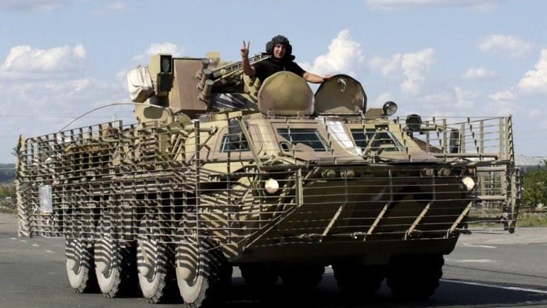 Ługańsk został odcięty od innych terenów kontrolowanych przez separatystów /AFP