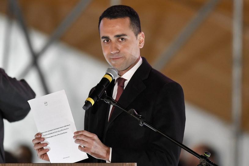 Luigi Di Maio lider Ruchu Pięciu Gwiazd /AFP