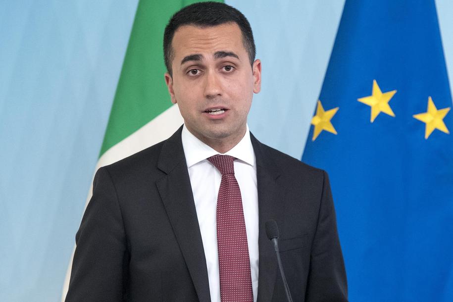 Luigi Di Maio /CLAUDIO PERI/ANSA /PAP/EPA