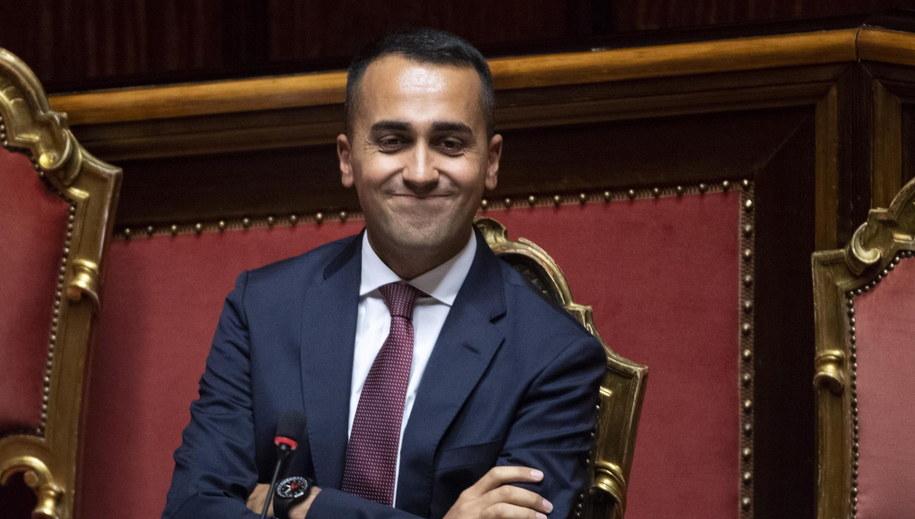 Luigi Di Maio /MAURIZIO BRAMBATTI /PAP/EPA
