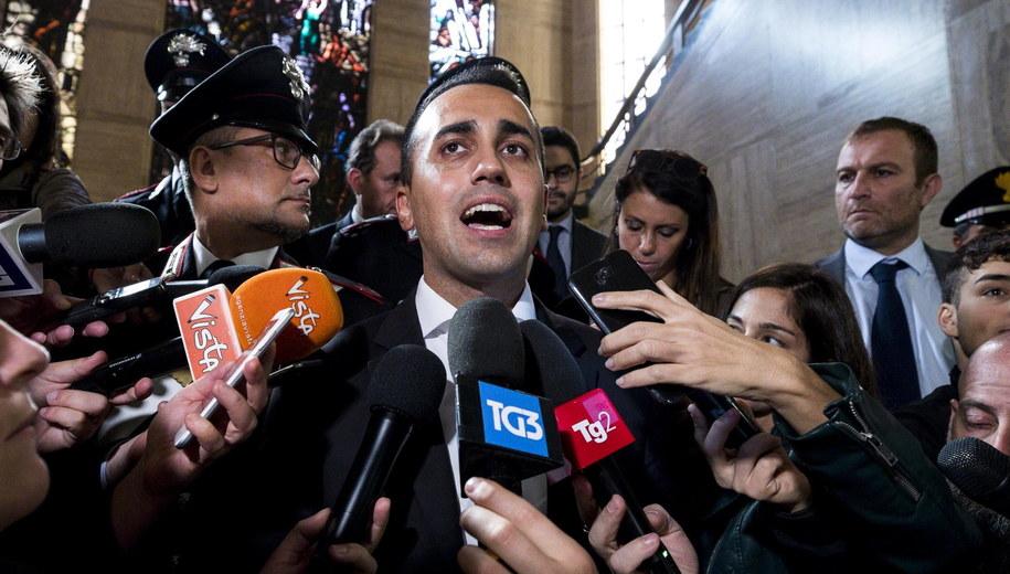 Luigi Di Maio /ANGELO CARCONI /PAP/EPA