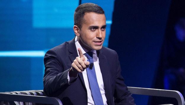 Luigi Di Maio /CLAUDIO PERI /PAP/EPA
