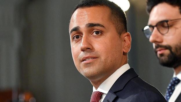 Luigi Di Maio /ETTORE FERRARI /PAP/EPA
