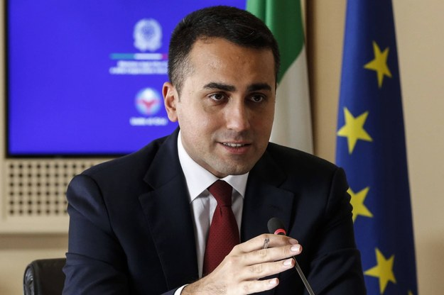 Luigi Di Maio /Fabio Frustaci /PAP/EPA