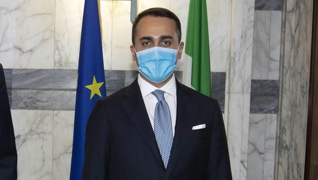 Luigi Di Maio /MASSIMO PERCOSSI /PAP/EPA