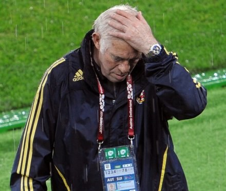 Luis Aragones - mądra głowa. /AFP