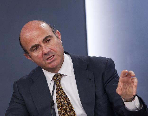 Luis de Guindos, minister gospodarki Hiszpanii /AFP