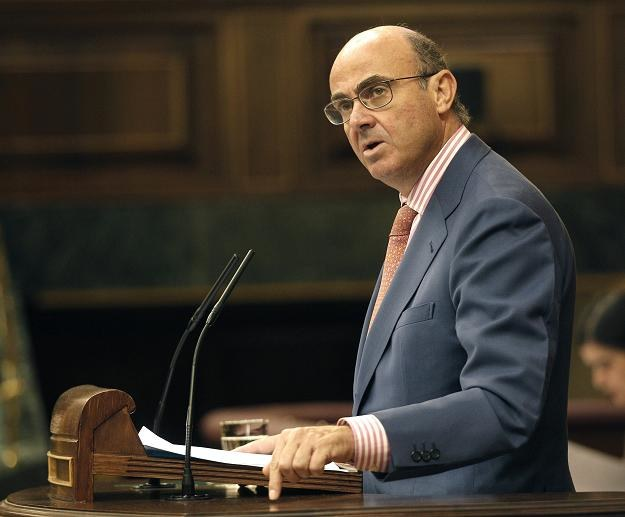 Luis de Guindos, minister gospodarki  Hiszpanii /EPA