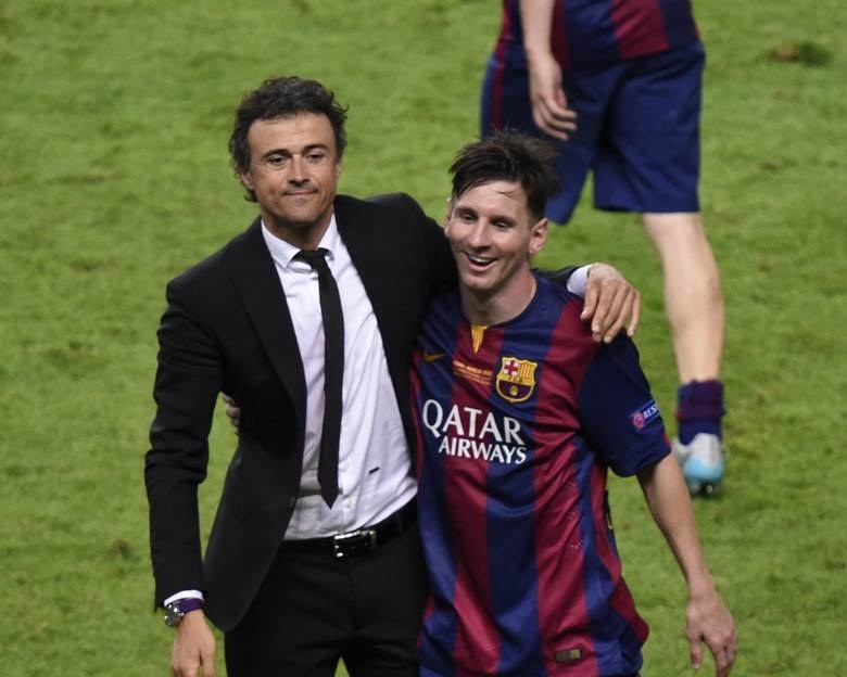 Luis Enrique i Leo Messi /EastNews /East News