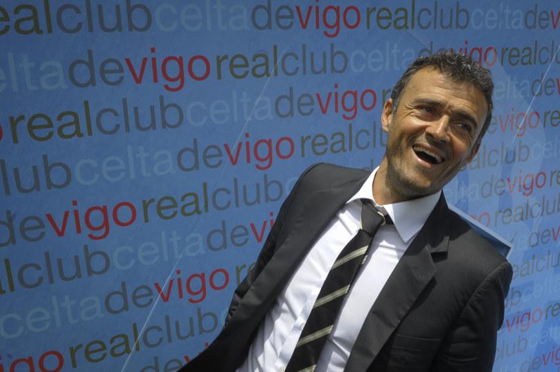 Luis Enrique przeniesie się z Celty Vigo do Barcelony? /AFP