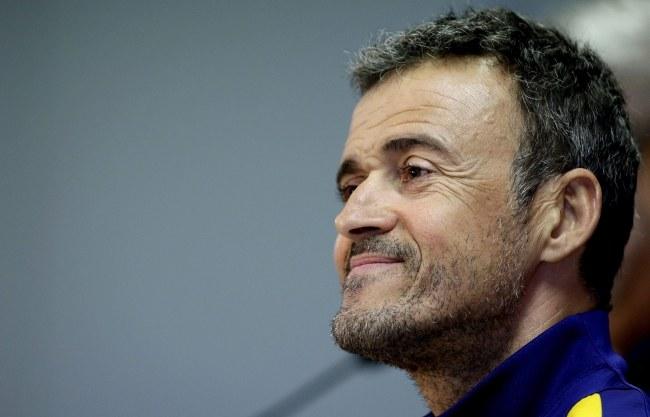 Luis Enrique, trener FC Barcelona /PAP/EPA