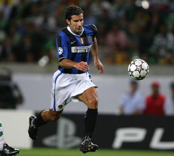 Luis Figo nie uratował Interu przed porażką w Lizbonie /AFP