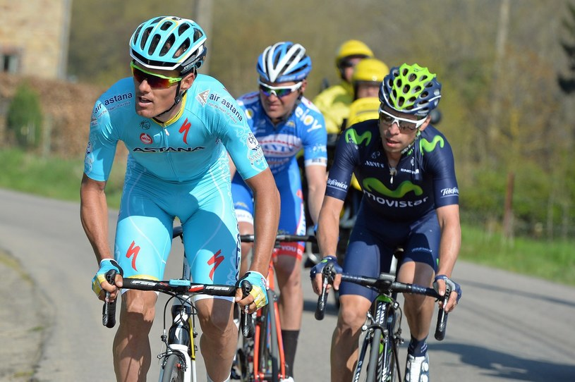 Luis Leon Sanchez (z lewej) /AFP