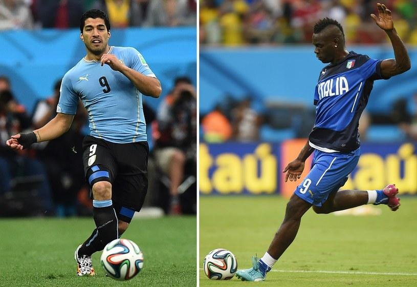 Luis Suarez i Mario Balotelli /AFP