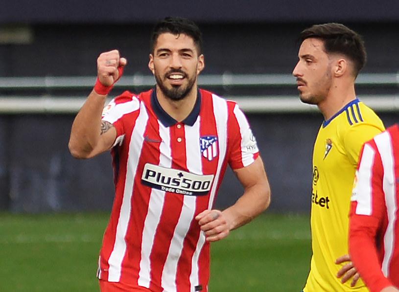 Luis Suarez już w barwach Atletico /AFP