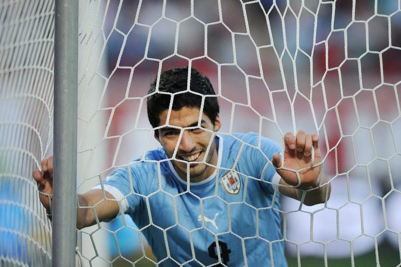Luis Suarez, piłkarz reprezentacji Urugwaju /AFP
