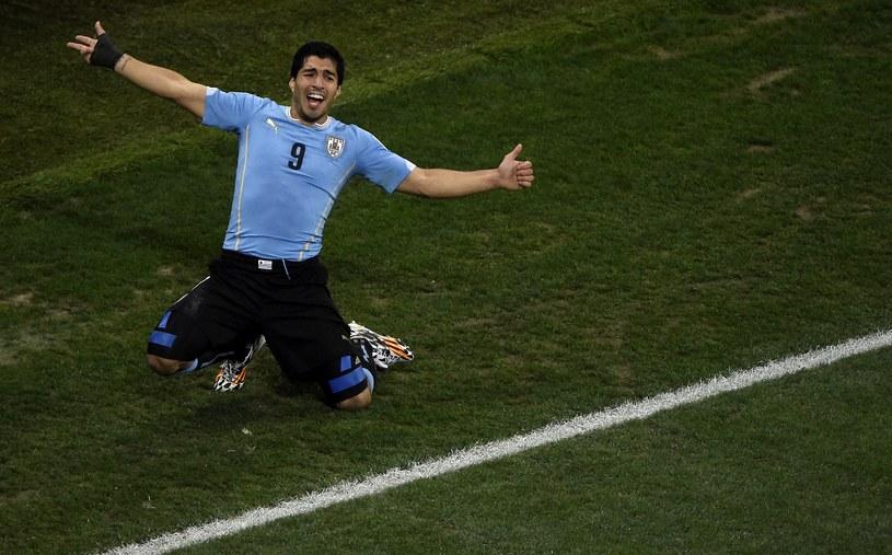 Luis Suarez pogrążył Anglię /AFP