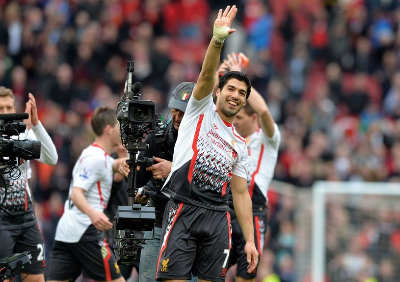 Luis Suarez pożegna się z Liverpoolem? /AFP