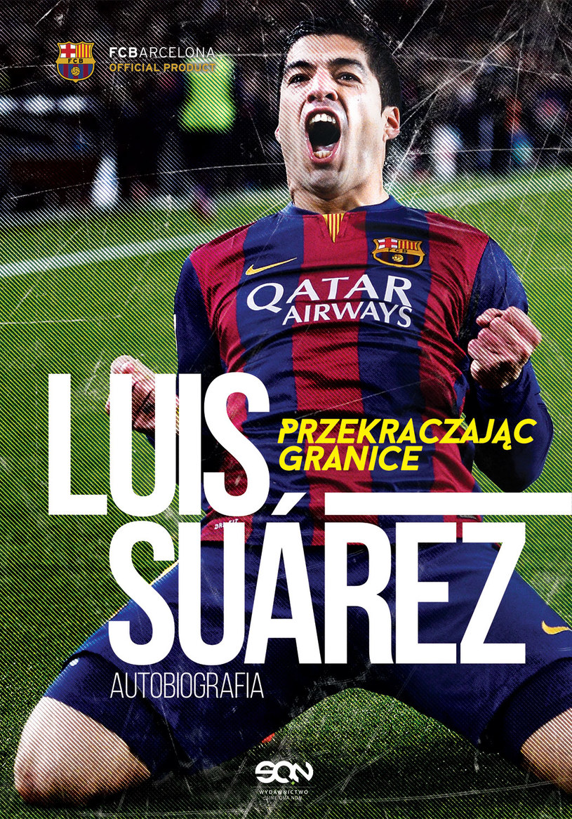 Luis Suarez. Przekraczając granice /labotiga.pl /INTERIA.PL