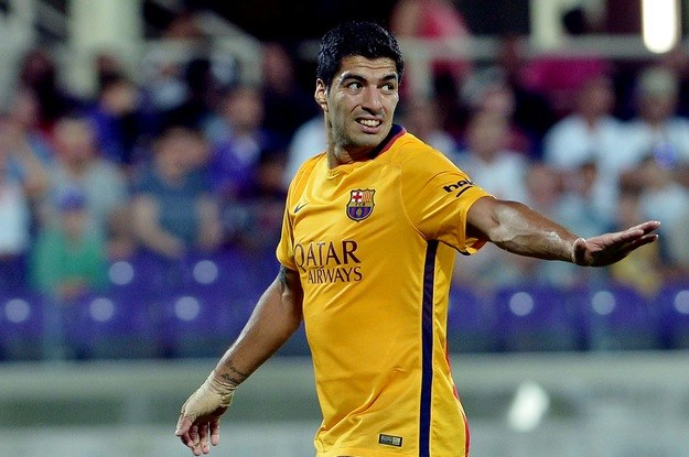 Luis Suarez strzelił dla Barcy. /AFP