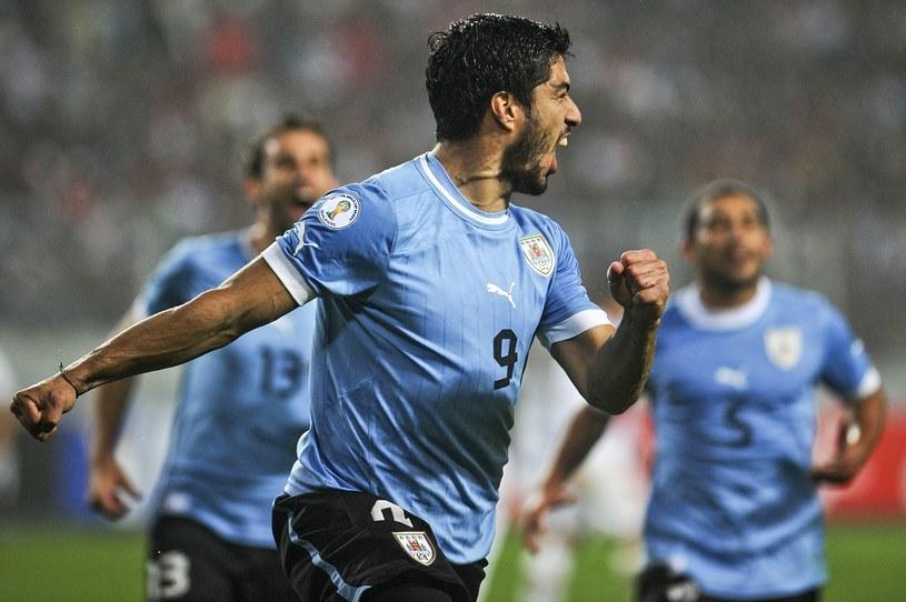 Luis Suarez strzelił dwa gole dla Urugwaju /AFP