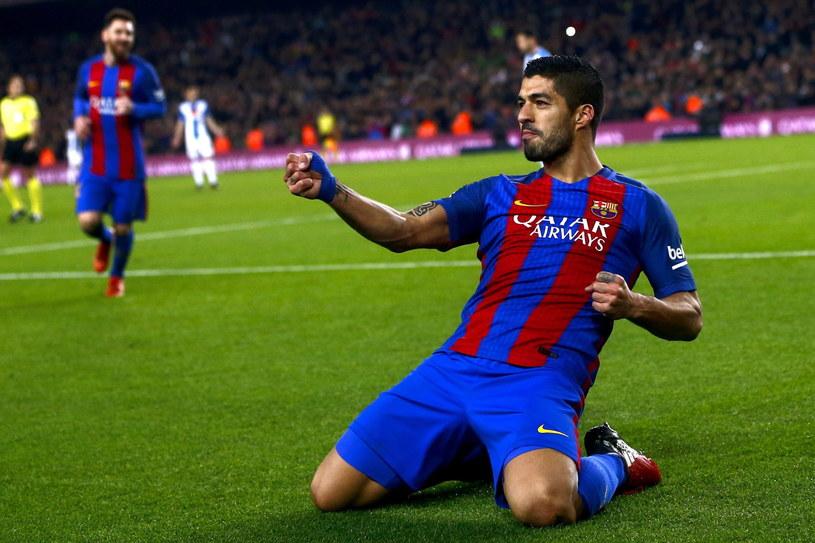 Luis Suarez strzelił dwa gole w meczu z Espanyolem /PAP/EPA