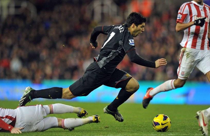 """Luis Suarez to jeden z najsłynniejszych """"nurków"""" /AFP"""