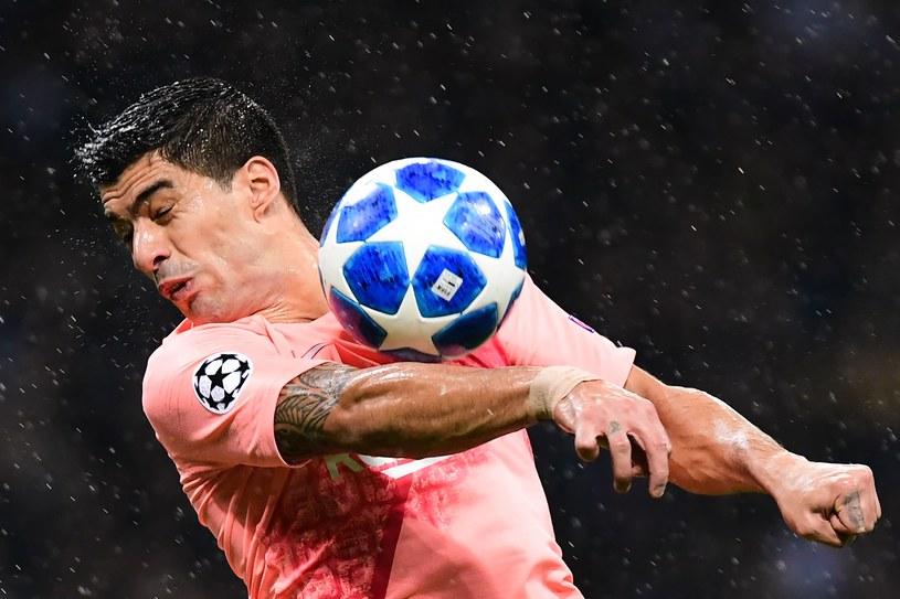 Luis Suarez z FC Barcelona /AFP