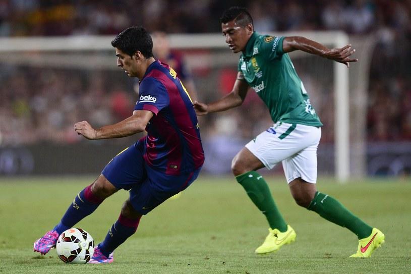 Luis Suarez zadebiutował w Barcelonie /AFP
