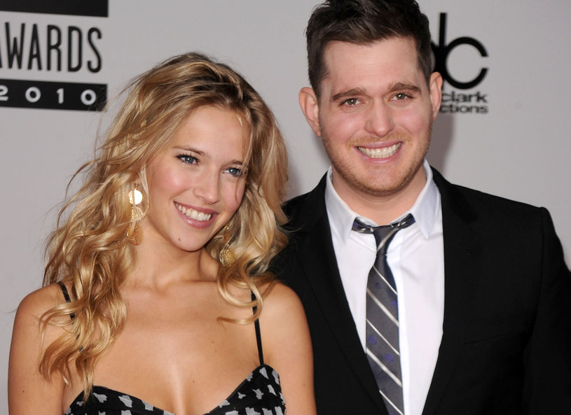 Luisana Lopilato i Michael Buble /Getty Images
