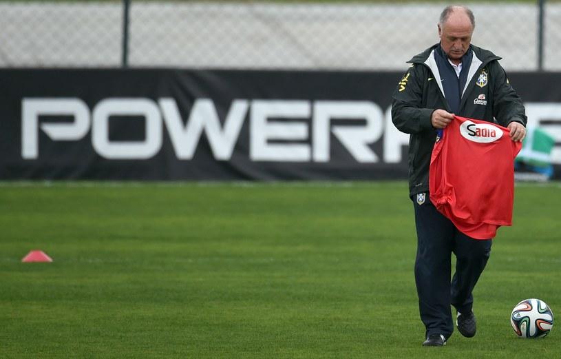 Luiz Felipe Scolari próbuje jeszcze ratować sytuację przed meczem o brąz, ale w Brazylii już wiedzą, że ten trener musi odejść. /AFP