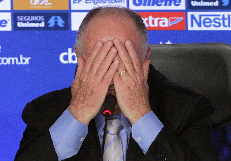Luiz Felipe Scolari zrezygnował z funkcji trenera Brazylii. Już oficjalnie /MARCOS DE PAULA /PAP/EPA