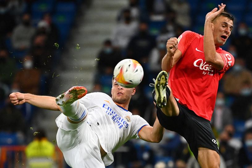 Luka Jović (strzela) /AFP
