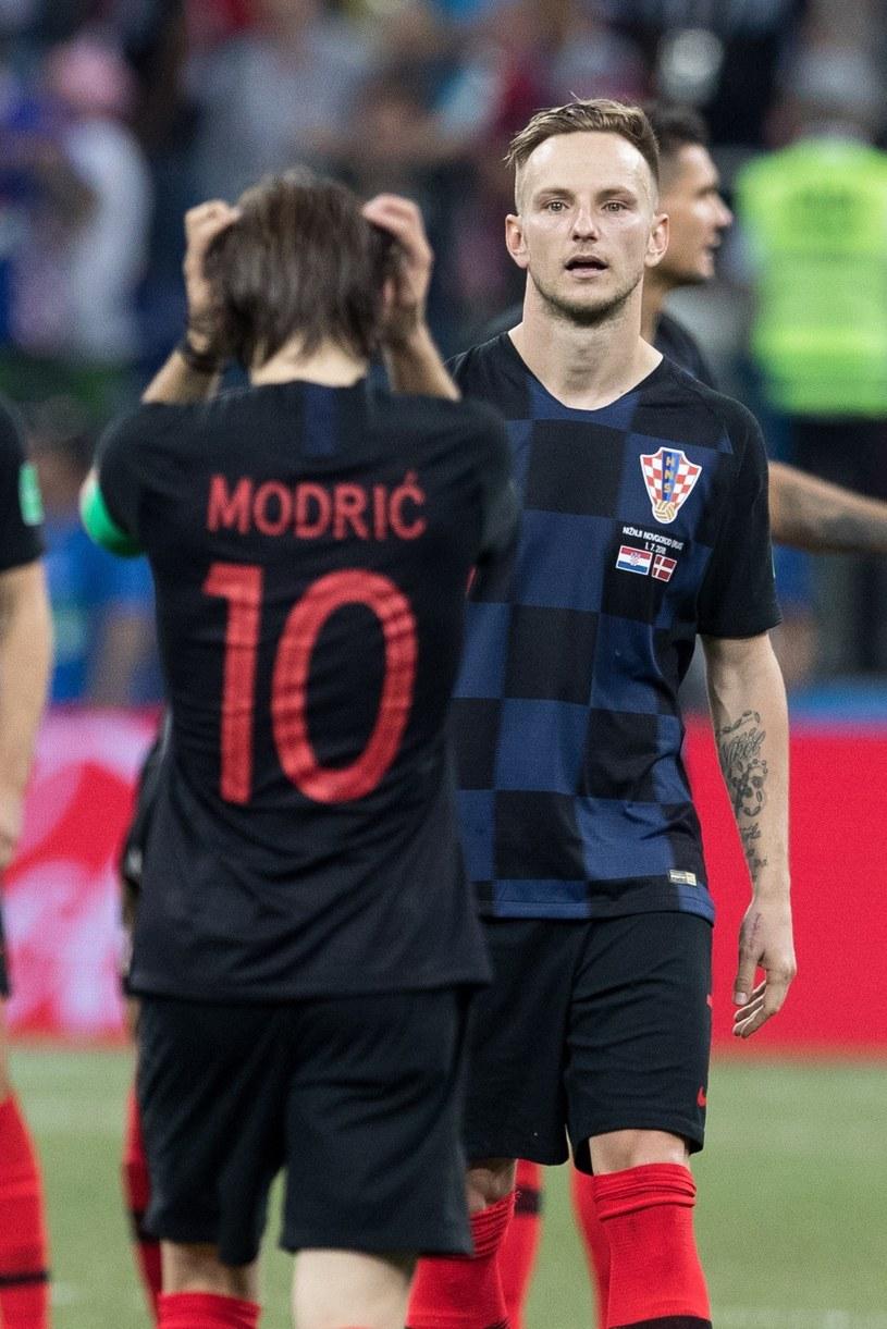 Luka Modrić i Ivan Rakitić /fot. Andrzej Iwanczuk/REPORTER /