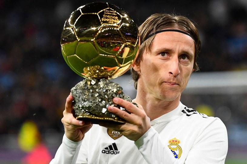 Luka Modrić ze Złotą Piłką /AFP