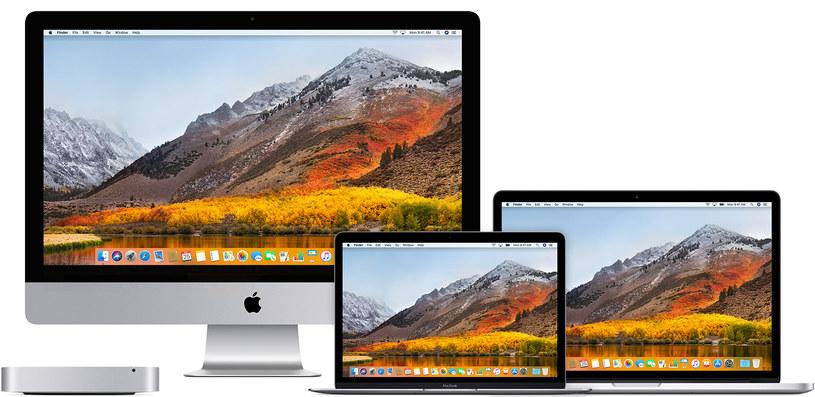 Luka zabezpieczeń dotyczy tylko wersji macOS High Sierra /materiały prasowe