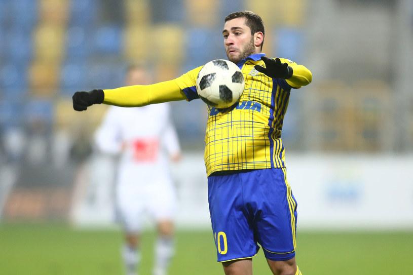 Luka Zarandia /Piotr Matusiewicz /Newspix