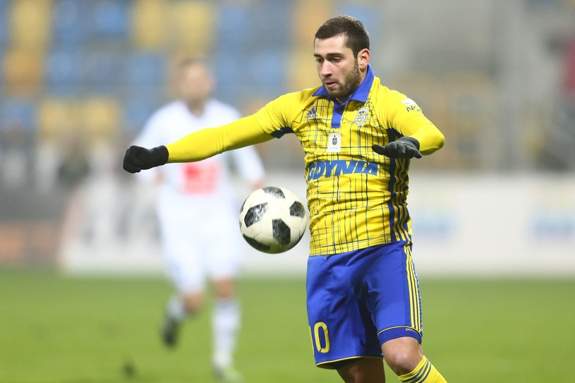 Luka Zarandia /Piotr Matusewicz /East News