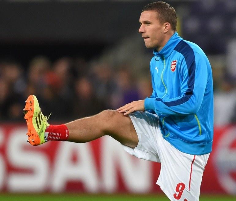 Lukas Podolski chce regularnie grać /AFP