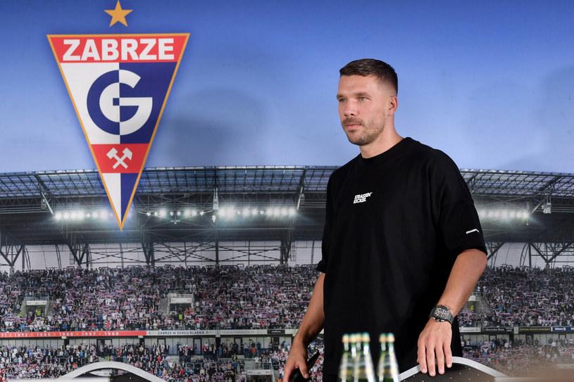 Lukas Podolski dotrzymał słowa i został zawodnikiem swojego ukochanego Górnika Zabrze /Lukasz Kalinowski/East News /East News