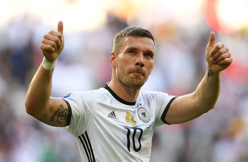 Lukas Podolski ma ofertę transferu do ligi chińskiej /fot. Patrik Stollarz /AFP