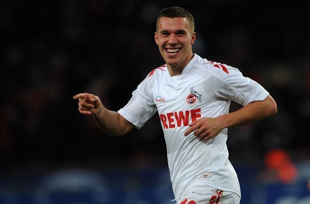 Lukas Podolski ma zarabiać w Arsenalu 100 tysięcy funtów tygodniowo /AFP
