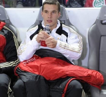 Lukas Podolski. /ASInfo/INTERIA.PL