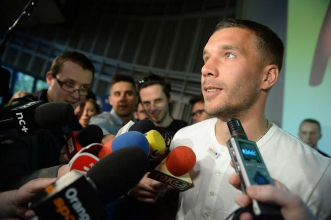 Lukas Podolski /Jacek Turczyk /PAP